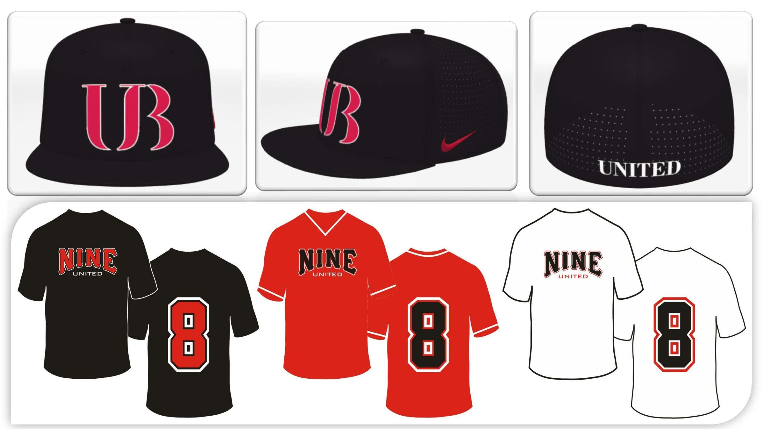 Nine Uniforms